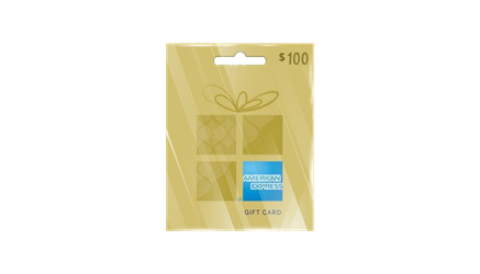 Buy American Express Gift Card 100 USD